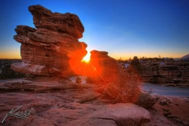 The Garden of Gods Balancing Rock, by Captain Kimo, Flickr