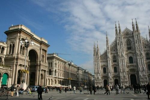 20091112 Milano 21 Piazza del Duomo 10 Duomo di Milano e Galleria Vittorio Emanuele II