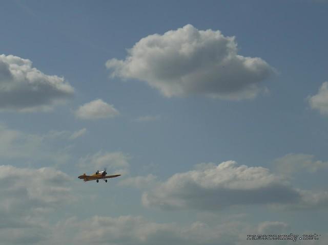 23 P1130862 Druine D.31 Turbulent {G-ARBZ} _ City Airport - 2009 (4th July)