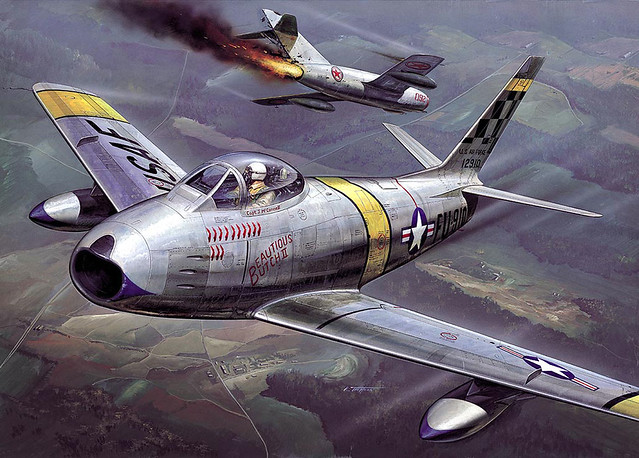 Chuck Yeager F 86 Sabre