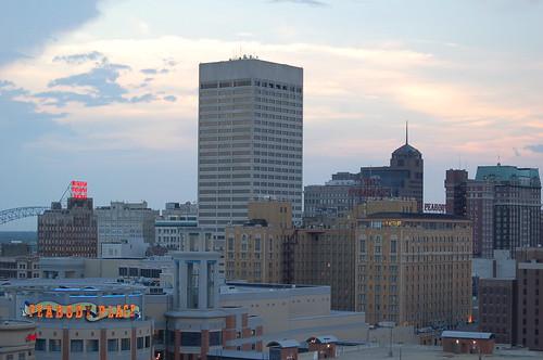 FedExForum Roof, Memphis, Tenn.