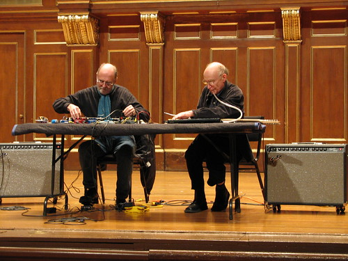 Christian Wolff at NEC Day 2: Keith Rowe & Christian Wolff 4