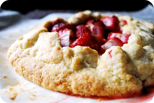 Strawberry Galette II