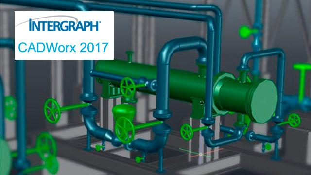 Design with Intergraph CADWorx V2017 17.0.0 SPLM2012 full license