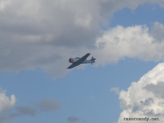1 CIMG4288 North American T-6 Texan {TA-042} _ City Airport - 2007 (7th July)