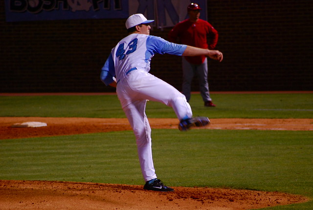 baseball: nc state @ unc, game one