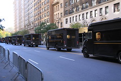 UPS Truck Line