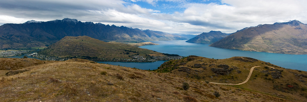 queenstown hill panorama