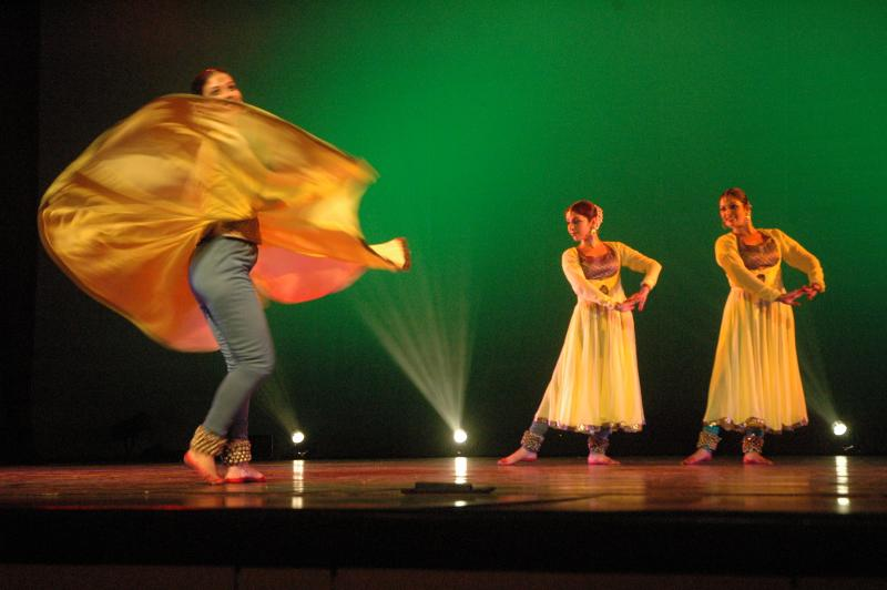 Kathak, traditional classical dance from North India