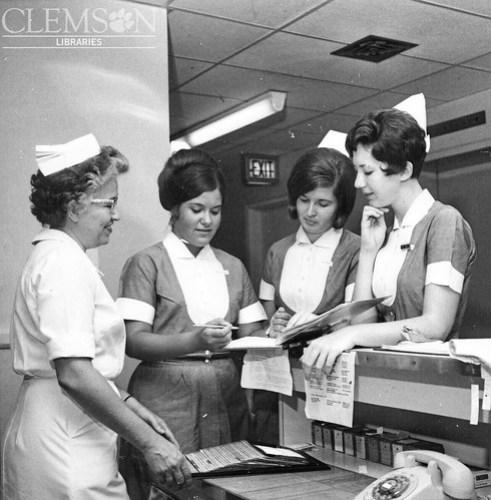 Nursing students, 1969