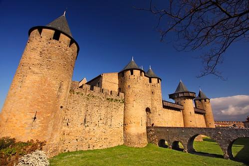chateau comtal cite medievale de carcassonne carcassonnais c celine deschamps