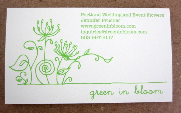 Business Card by Green In Bloom