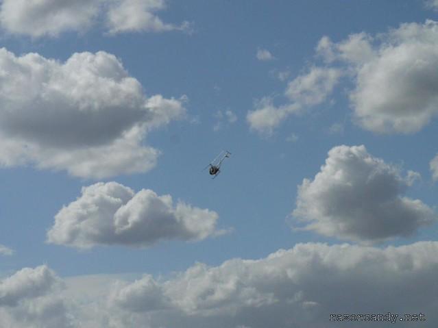 12 P1080650 Schweizer Helicopter {G-BWAV} _ City Airport - 2008 (5th July)