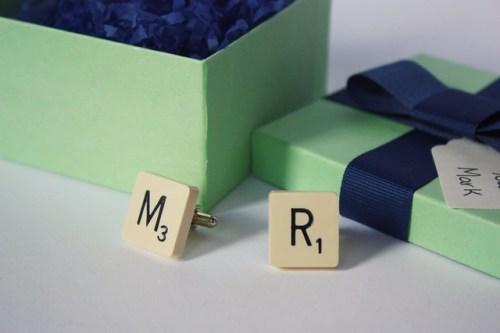 Scrabble Cufflinks