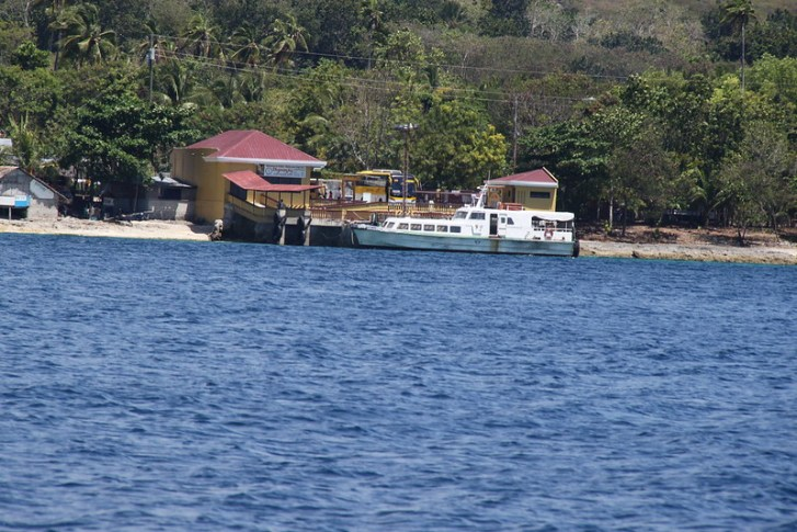 Santander Port - Cebu Island - Philippines - February 2010
