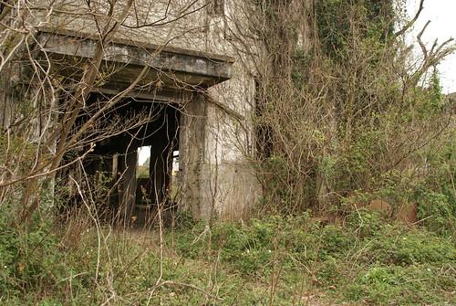 abandoned shipyard in Imari