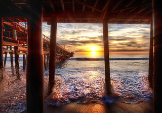 Under the Docks in California - Trey Ratcliff