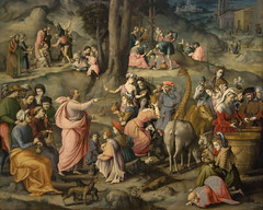 The Gathering of Manna, ca. 1540
