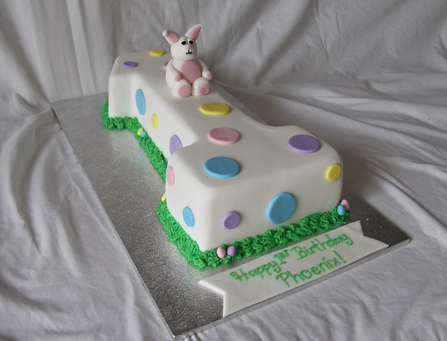 Easter Themed Birthday Cake