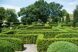The Maze at Knebworth house