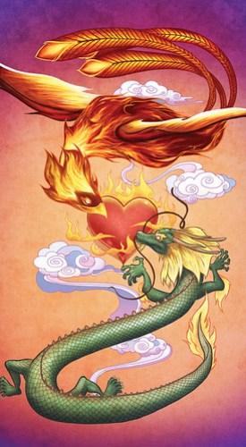 Dragon Phoenix Love