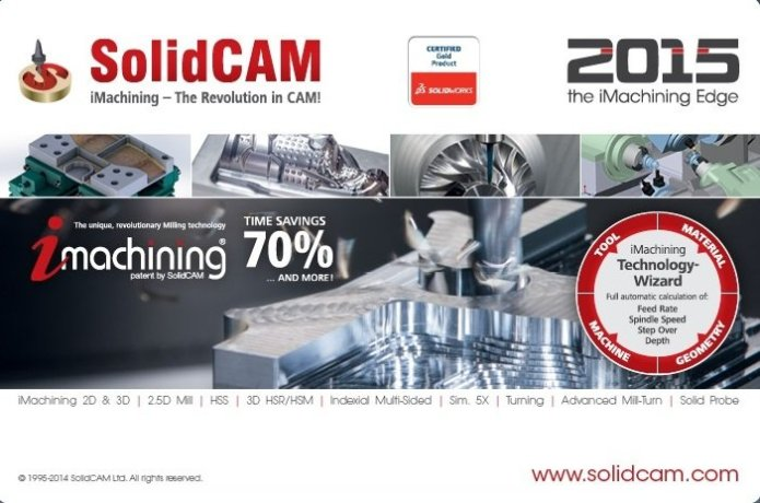 SolidCAM 2015 SP4 HF5 Multilang for SolidWorks 2012-2017 32-64bit