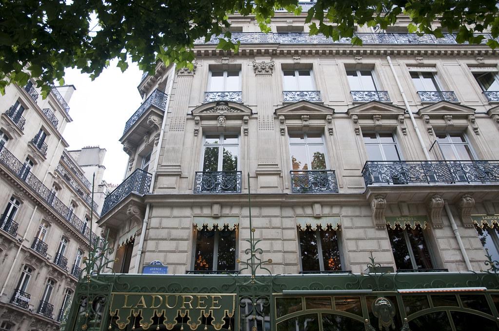 Laduree at Champs-Élysées