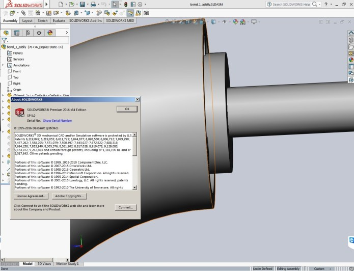 Design with SolidWorks 2016 SP5 Full Premium Multilang Integrated full