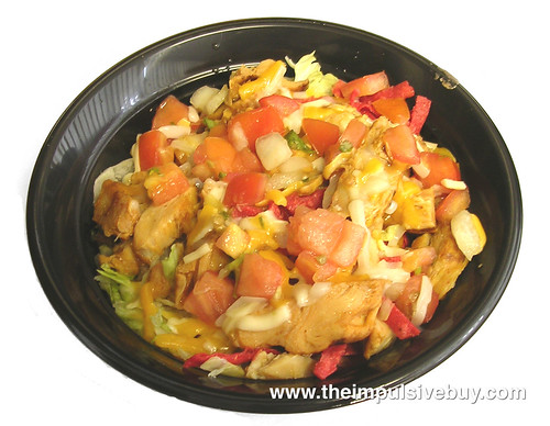 Taco Bell Zesty Chicken Border Bowl