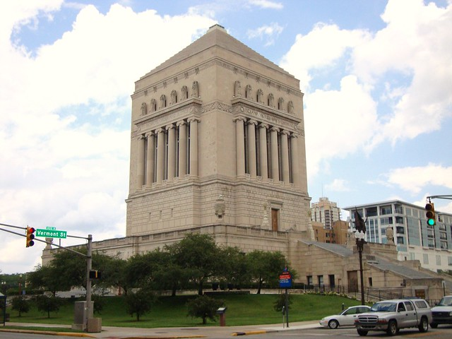 Indiana World War I Memorial Indianapolis Indiana