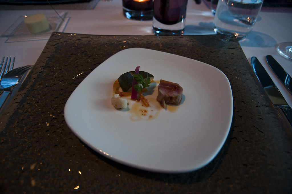 Amuse Bouche at Celeste Restaurant