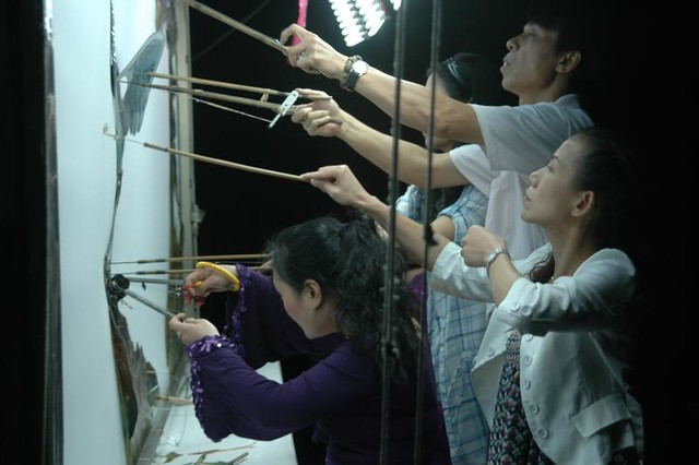 Its no Joke! Puppetry, The team from Hunan, China