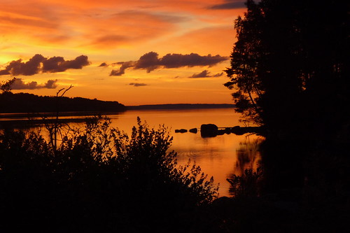 Sunset in Jämtland, Sweden