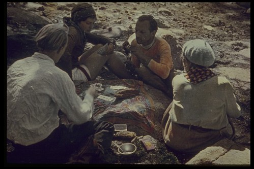 Card game. Sequoia & Kings Canyon National Park, CA. 1932