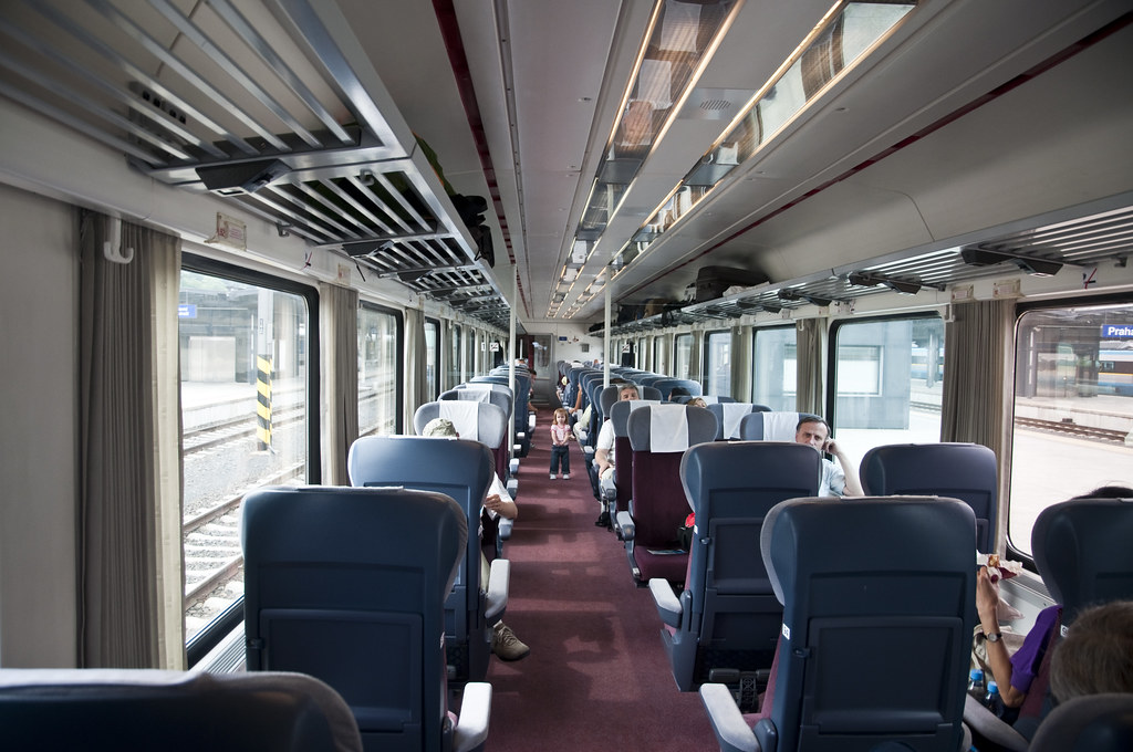 First Class Train Compartment
