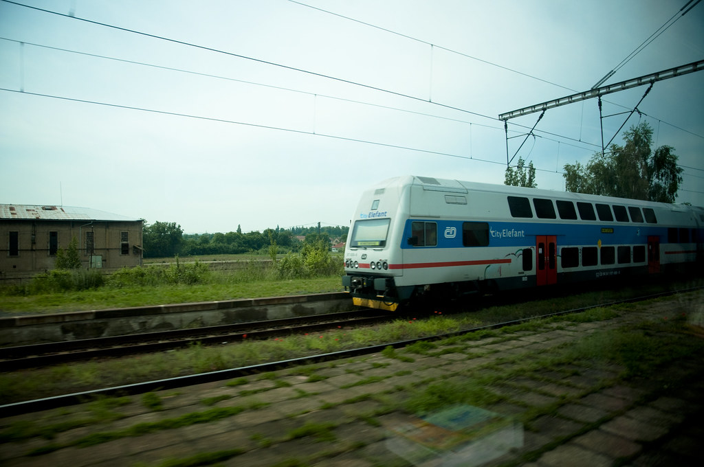 City Elefant Train at Kolin