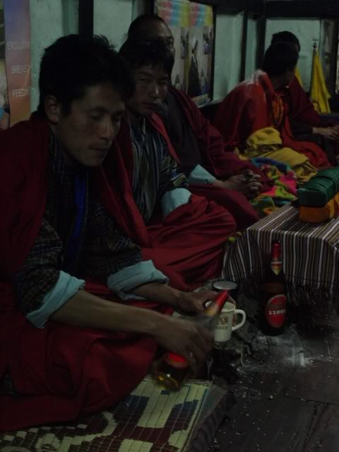 Doje's Family's Ceremony - Drunk Monks