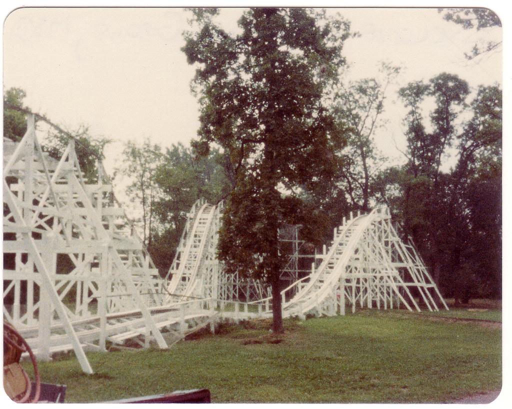 The Cyclone (Back Turn-Around), Williams Grove Park - 1983