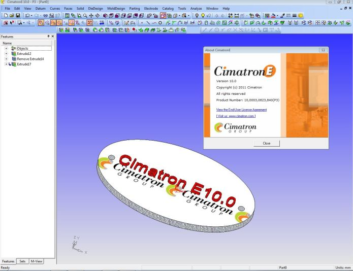 Design with Cimatron E10 x86 x64 full license