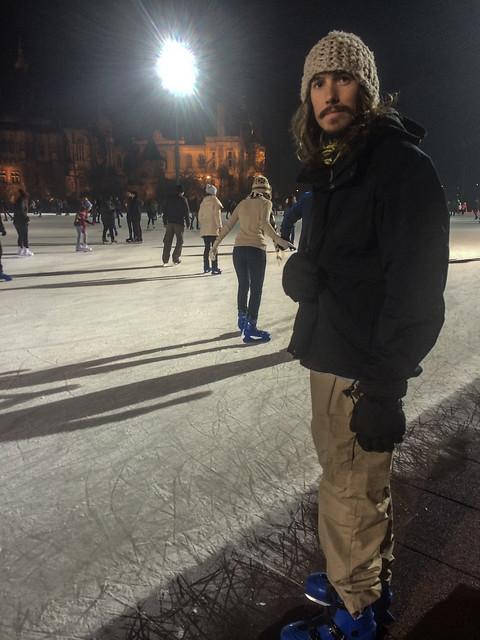 Kyle In Skates