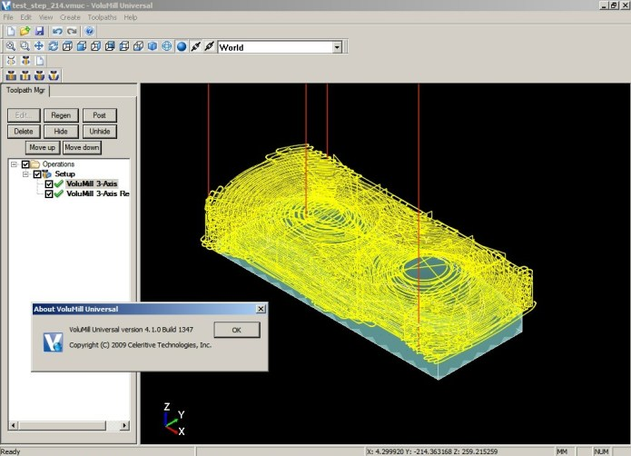 Machining with VoluMill Universal 4.1 full license
