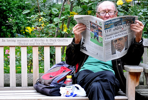 Dickie, His Duchess And The Times Reader