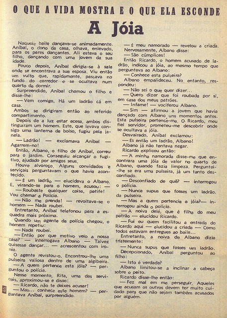 Crónica Feminina, No, 889, December 6 1973 - 69. by Gatochy