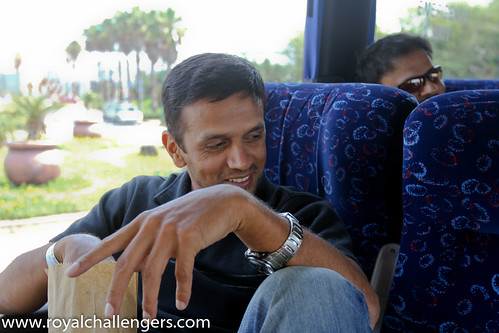 Rahul Dravid by Royal Challengers Bangalore