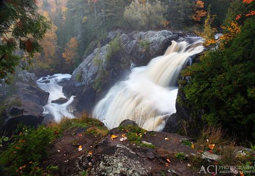 From Above - Gabbro Falls (Black River - Upper Michigan)