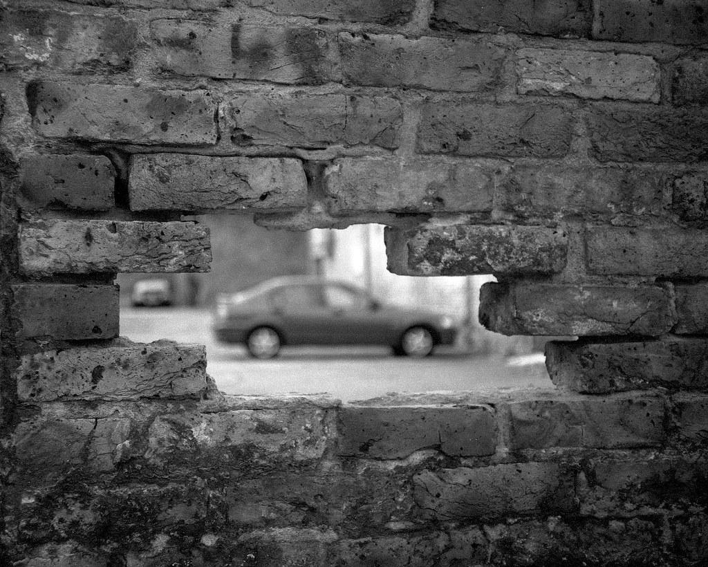 Holey wall