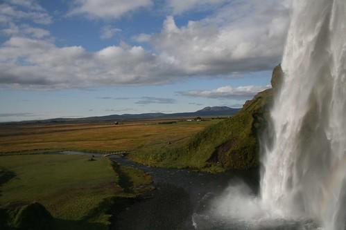 Cascada Seljalandfoss (Islandia)