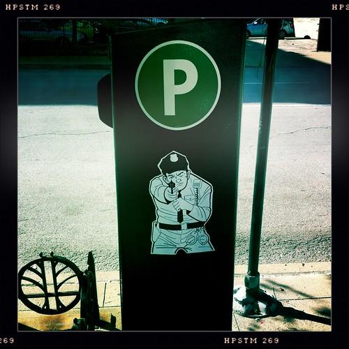 Put Money in the Parking Meter or else!