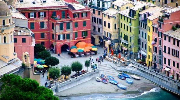 Italy. Cinque Terra. La Spezia, Riomaggiore, Manarola, Corniglia, Vernazza, Monterosso. Travel. October 2010
