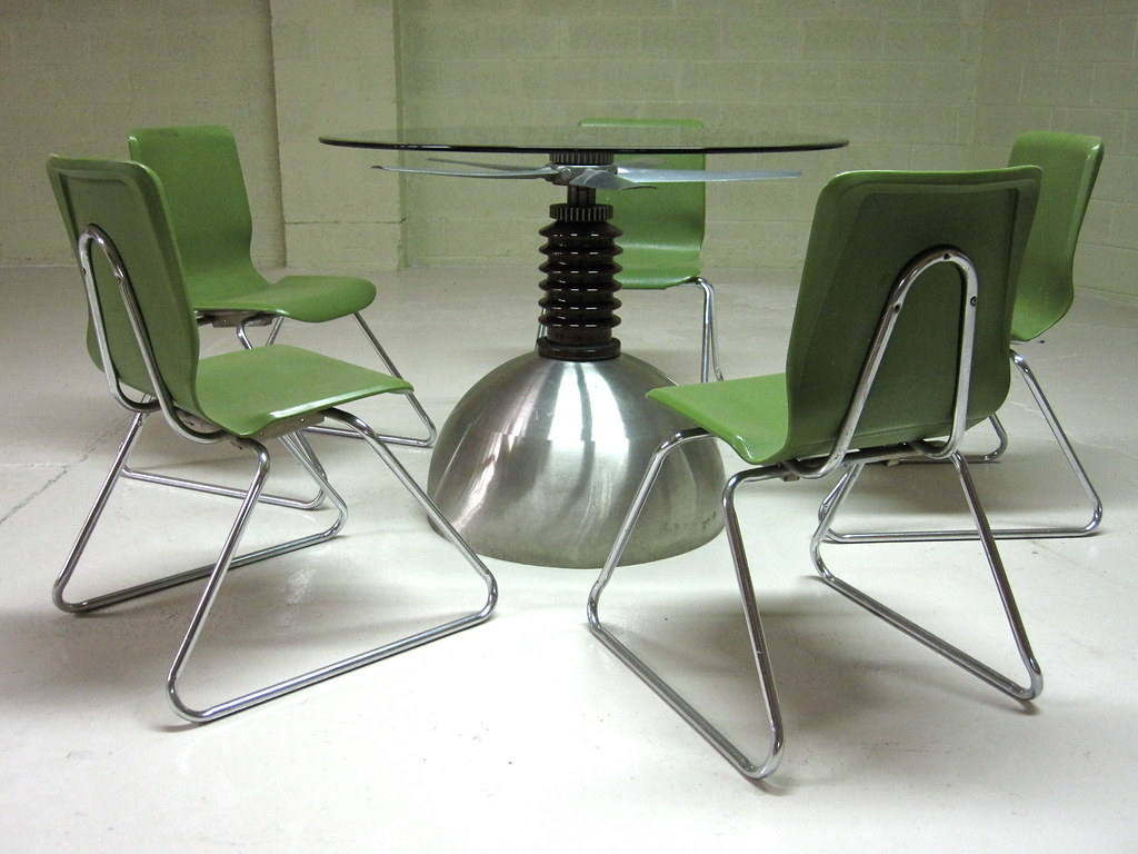 Propeller table sculpture